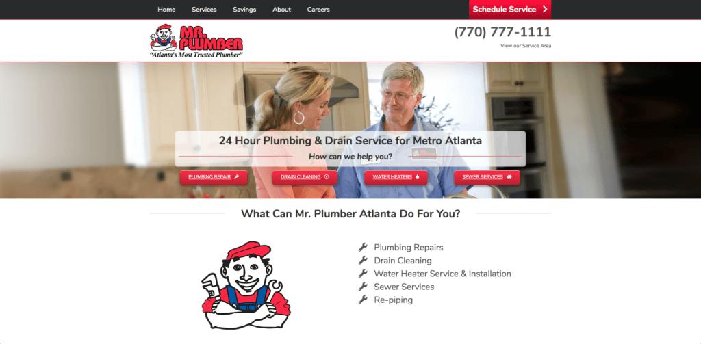 plumber websites