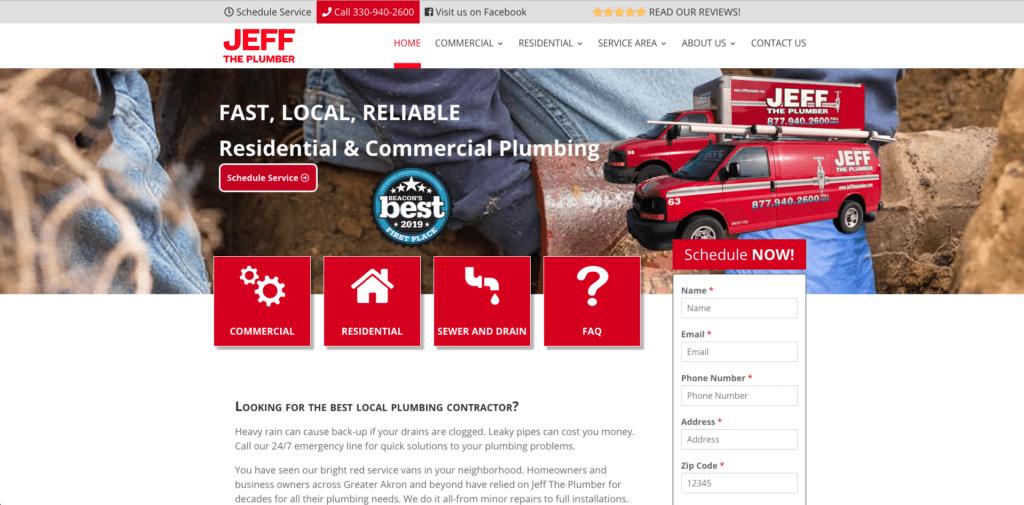 best plumbing websites
