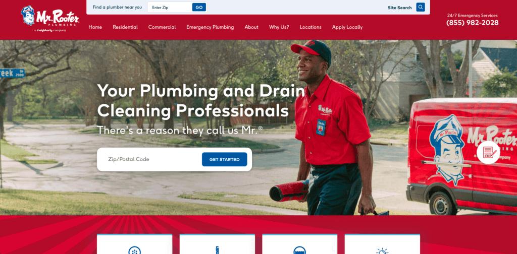 good plumbing websites
