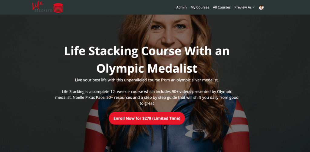 noelle pikus pace life stacking course