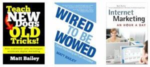 Books by Matt Bailey
